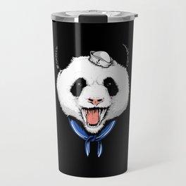 Panda Sailor Travel Mug