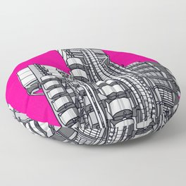 London Town - Lloyds of London Floor Pillow