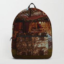 Prague Christmas Market Backpack