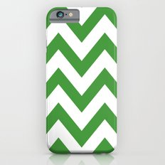 MEAN GREEN CHEVRON Slim Case iPhone 6s