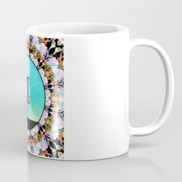 Disc Golf Abstract Basket 4 Coffee Mug