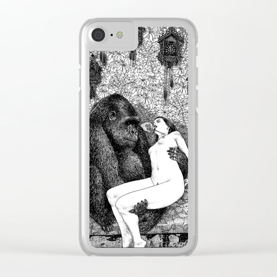 asc 686 - La pitié (Time is out of joint) Clear iPhone Case