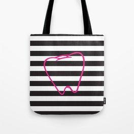 Dental Stripes Tote Bag