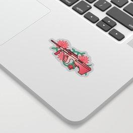 floral_aug Sticker