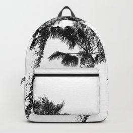 Tropical Palm Tree Photography {2 of 2} | Black and White Backpack