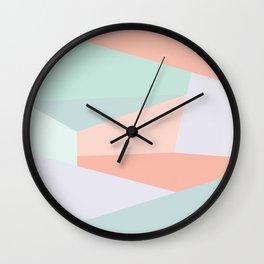 Facets Wall Clock