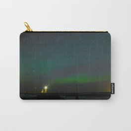 Northern Lights Lighthouse Carry-All Pouch