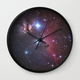 Horsehead Nebula Wall Clock