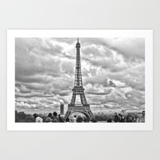 Another Eiffel Tower Photo Art Print