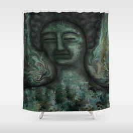 Biblical Jezebel by rafi talby Shower Curtain