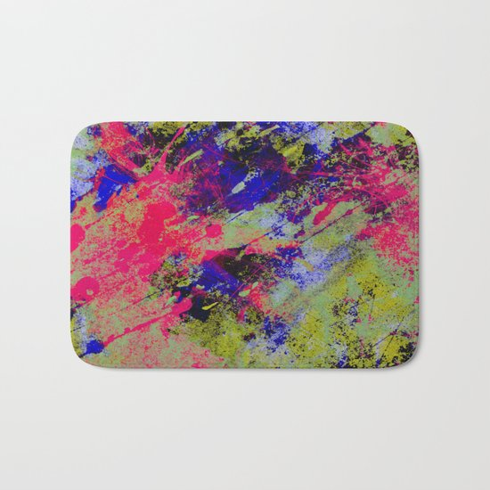Colour Abstract #13 Bath Mat