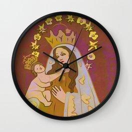 Virgen de Los Remedios Wall Clock