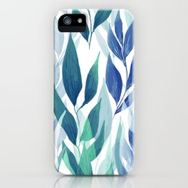 Leafage #02 iPhone Case