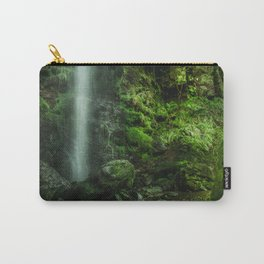 Mallyan in Green Carry-All Pouch