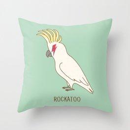 rockatoo Throw Pillow