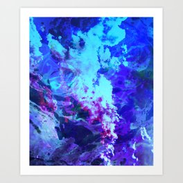 Misty Eyes of Tranquility Art Print