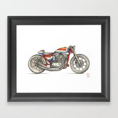 Harley Framed Art Print