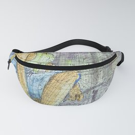 In the Kitchen / Traditional Kitchen / African Art Fanny Pack