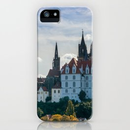 Meissen Castle and Cathedral iPhone Case