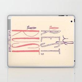 """If I Rest, I Rust"" - Martin Luther (feminine colors) Laptop & iPad Skin"