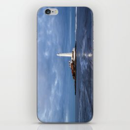 Dusk at St Mary's Lighthouse II iPhone Skin