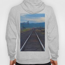 Wrong Side of the Track - Oncoming Train Hoody