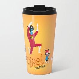 WB Pixel Nostalgia Travel Mug