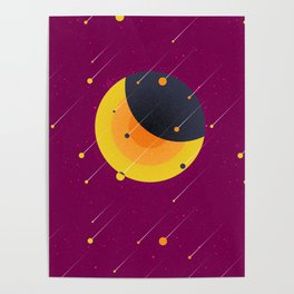 021 OWLY meteor shower Poster