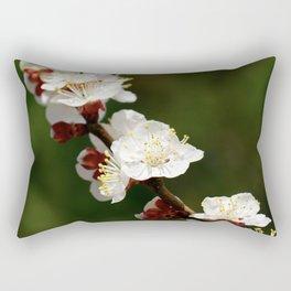 A Sprig of Apricot Blossoms 1 Rectangular Pillow