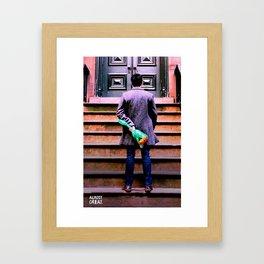 Twolips. Framed Art Print