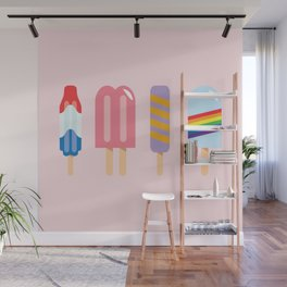 Popsicle - Four Pack Pink #267 Wall Mural