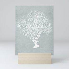 White Coral Mini Art Print