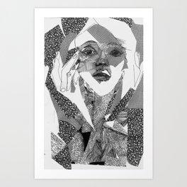 mail ordered bridal Art Print