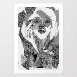 mail ordered bridal Art Print