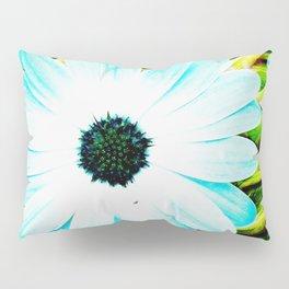Making art with flower - green tones Pillow Sham