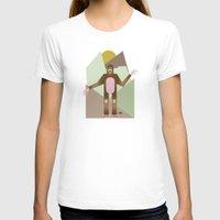 bigfoot T-shirts featuring Finding Bigfoot by Juan Carlos Campos
