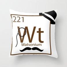 My Dear Watson is Elementary Throw Pillow