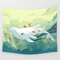 freeminds Wall Tapestries featuring Nightbringer 2 by Freeminds