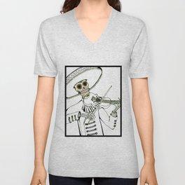 Sugar Skull Unisex V-Neck