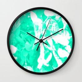 Psychedelic Cactus Wall Clock