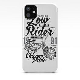 Low Rider bike iPhone Case