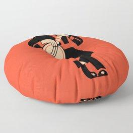 The Banjoist Floor Pillow