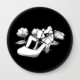 Floating without anchor Wall Clock