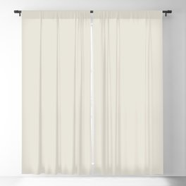 Neutral Off-white - Cream - Ivory Solid Color Parable to Valspar Snowy Dusk 7002-3 Blackout Curtain