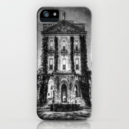 Haunted Manor House iPhone Case