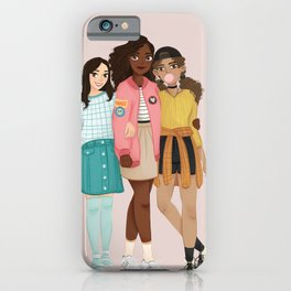21st Century Schuyler Sisters iPhone Case