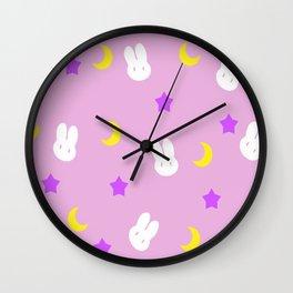 Usagi Print Wall Clock