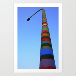 Vertical Art Art Print