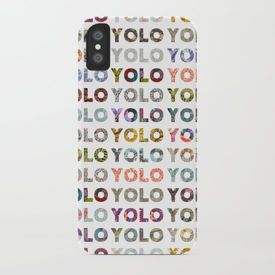 YOU ONLY LIVE ONCE iPhone Case
