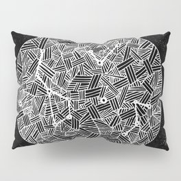 Black Constellation Pillow Sham